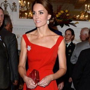 Catherine Duchess of Cambridge and Prince William Attend Reception at Government House in British Columbia