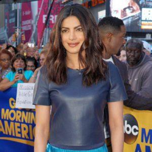 Priyanka Chopra and Blair Underwood Visit Good Morning America