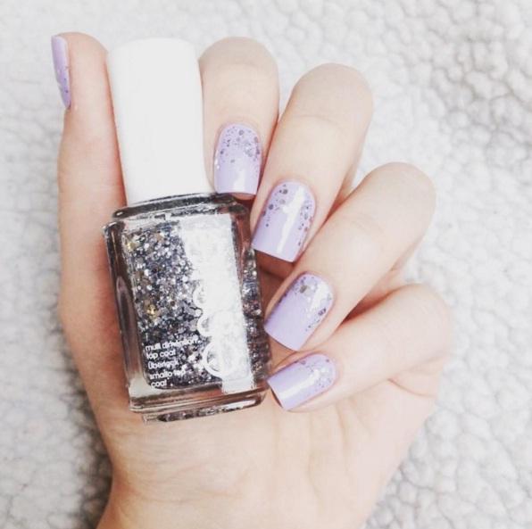 Essie Lilac Nails