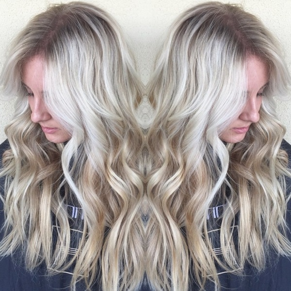 Snowlights Are The Frosty New Hair Highlights For Winter 2016 Beauty