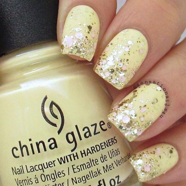 Photo Sensationails4u On Instagram Canary Yellow Nails