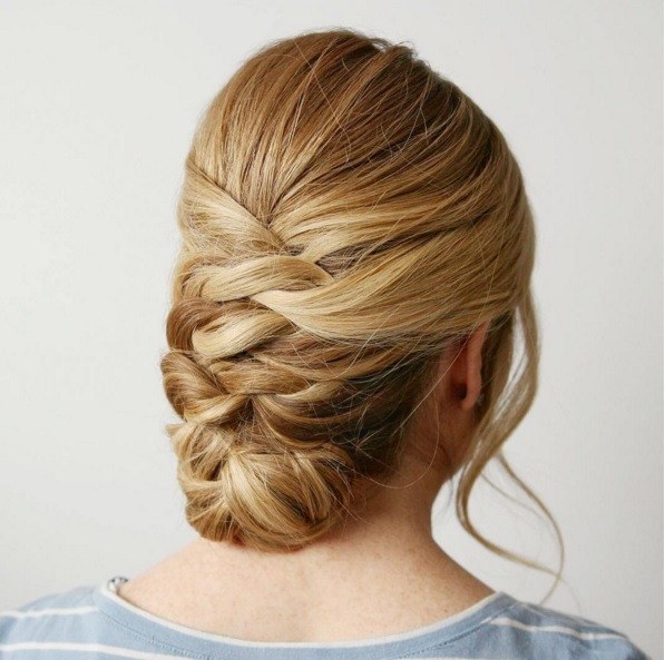 Master The Seasons Easy Knotted Updo Now Beauty