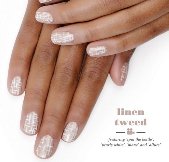 LINEN TWEED NAILS