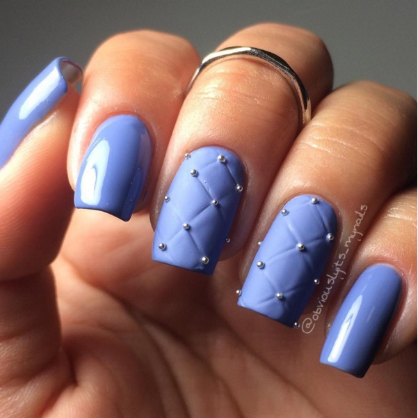 Quilted Nails 4