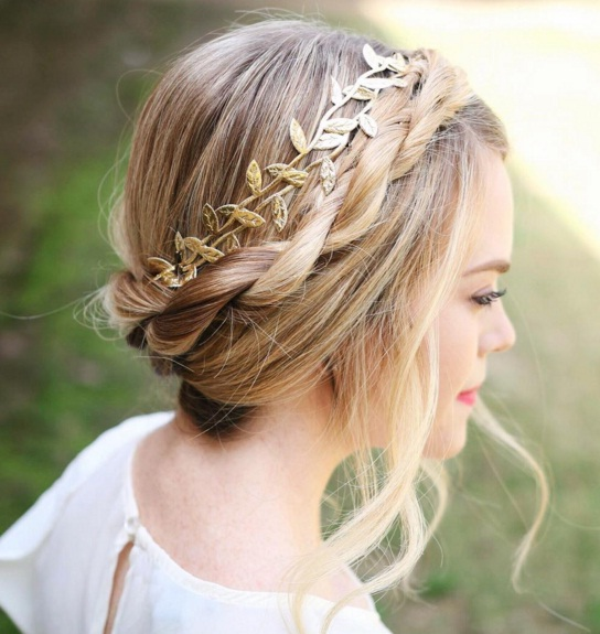 Revamp Your Rope Braid With This Easy Updo Hair Tutorial Beauty