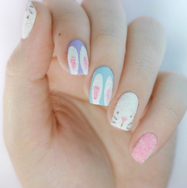 Easy easter nail art to help you spring into spring beauty fuzzy nail art prinsesfo Gallery