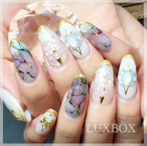 stone nails the new manicure trend to rock now  beauty