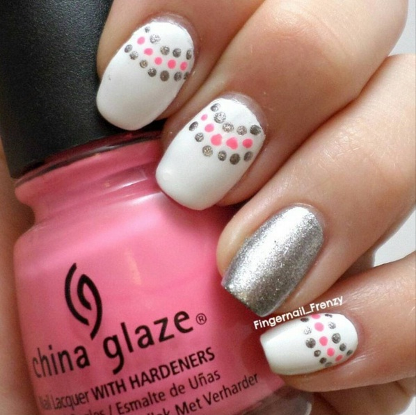 Dazzling Silver Nail Art Ideas For Shiny Fingertips Beauty