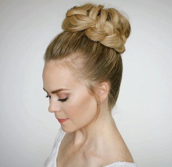 master the french braided updo in 4 simple steps beauty
