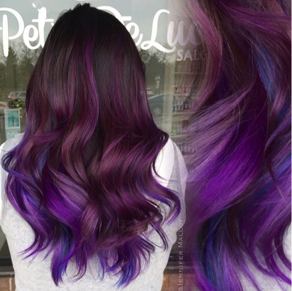 Amethyst Locks Are The Latest Hair Colour Trend For