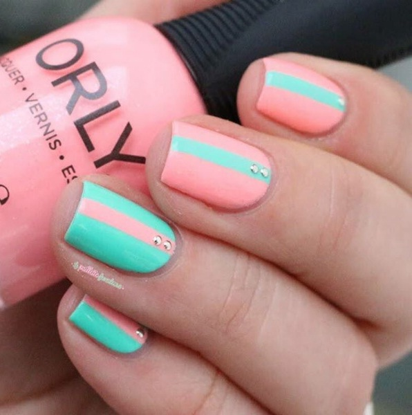 Springtime Striped Nail Art Ideas For A Perfect Manicure Beauty