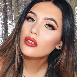 master a chic red lip makeup look with this tutorial  beauty