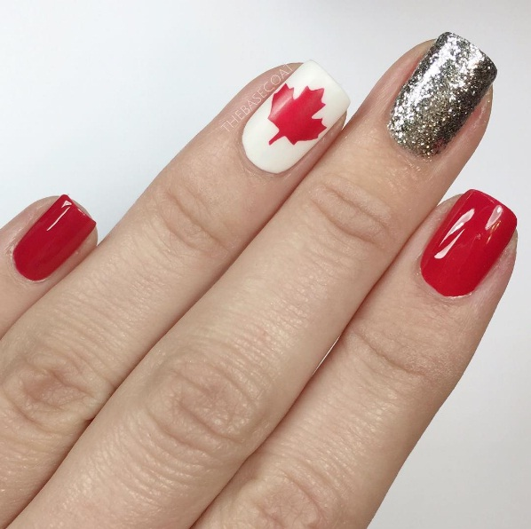 Cool Canada Day Manicures To Capture Your Inner Canuck | BEAUTY