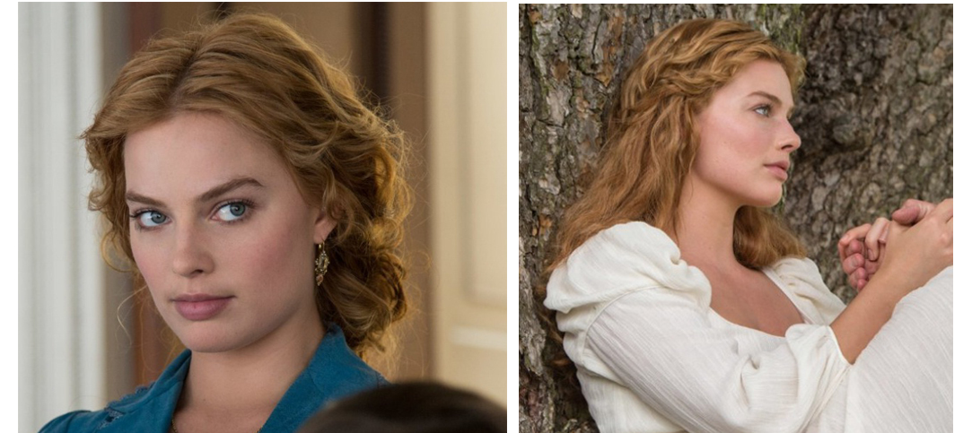 Get Margot Robbie S Pulled Back Wavy Hairstyle From The Legend Of