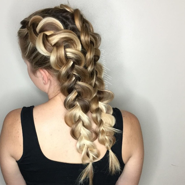 Double Dutch Braids, The Sexy New Spin On Classic Pigtails