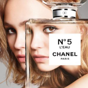 CHANEL NO 5 LILY ROSE DEPP