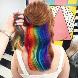 RAINBOW HAIR 1