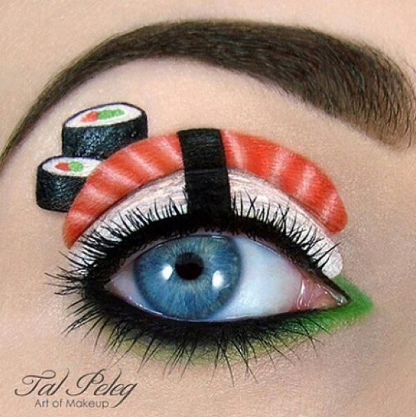 Sushi Makeup The New Trend That Looks Good Enough To Eat Beauty ac1af14551364