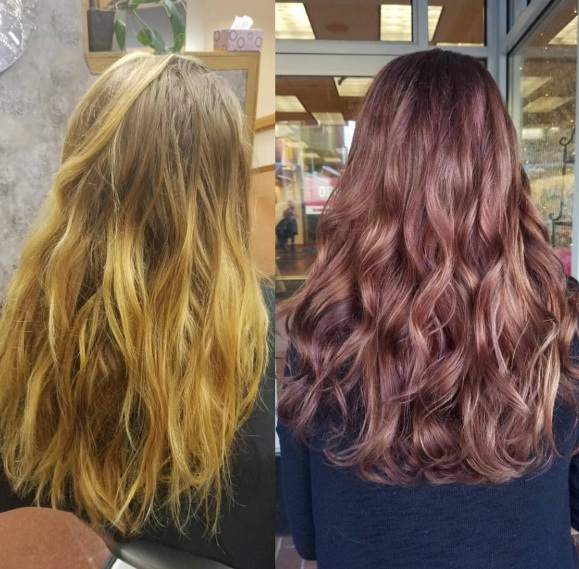 Chocolate Mauve Hair Autumn39s New Colour Trend Of ...
