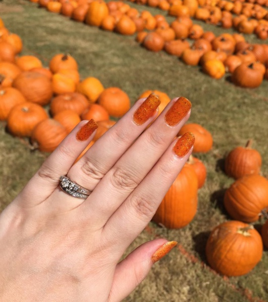 Pumpkin Spice Nail Art Is The Latest Way To Embrace Autumn Beauty