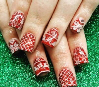 Holiday Nail Art Beauty