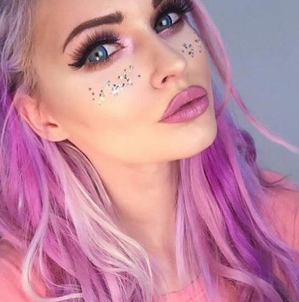 Rock Glitter Makeup Like A Pro This Season Beauty