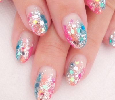 Sequin Nail Art Beauty