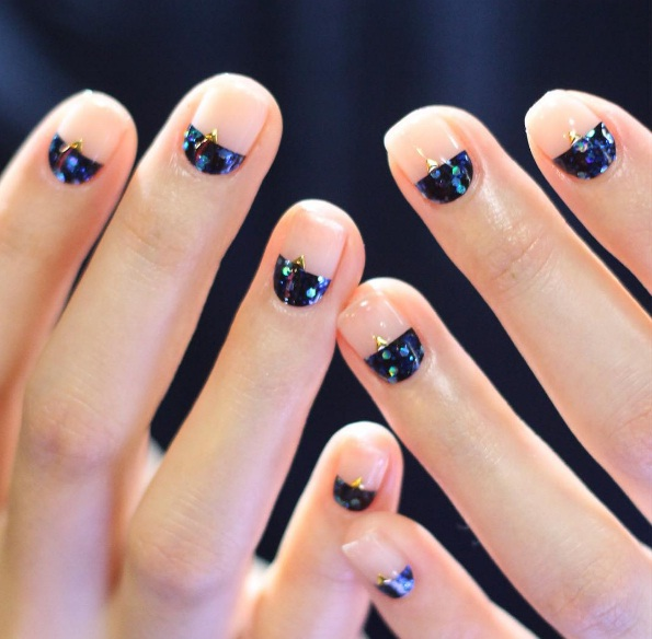 Cuticle Nail Art The Hottest New Manicure Trend To Keep At Your