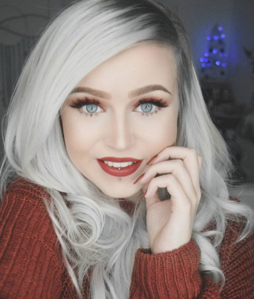 Silver White Hair Will Be An Icy Cool Colour Fad This Year