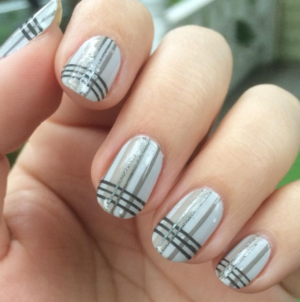 Greyscale Nail Art Is The Latest In Minimalist Beauty For 2017 Beauty