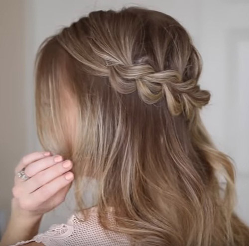 Master This Easy Half Up Bohemian Braided Hairstyle Beauty