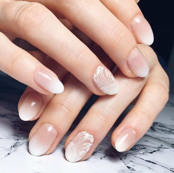 We Ve Curated A Few Stunning Bridal Manicure Ideas To Help You Transform Into Fairytale Princess As Walk Down The Aisle