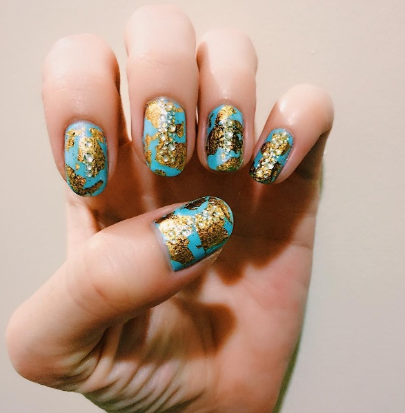 Beautiful Bejewelled Nail Art Looks To Dress Up Your Fingertips | BEAUTY