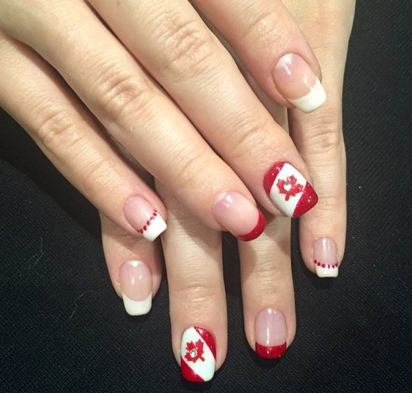 Celebrate Canadas 150th With These Canada Day Nail Art Ideas Beauty