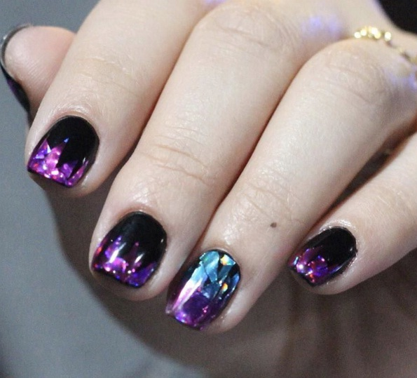 The Most Outrageous New Nail Trend Is Disco Nails Beauty