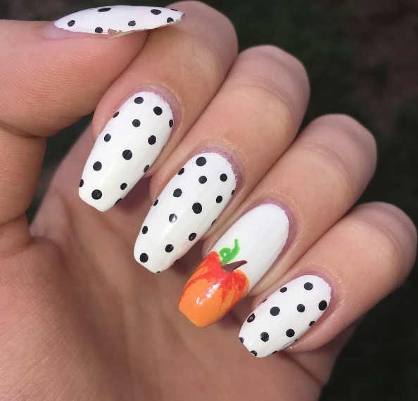 Nail Polish White Pumpkin Absolute Cycle
