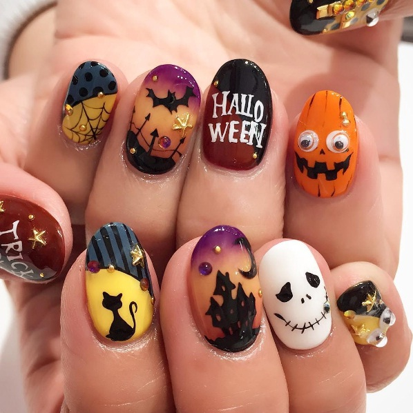 Spooktacular Halloween Nail Art Looks | BEAUTY