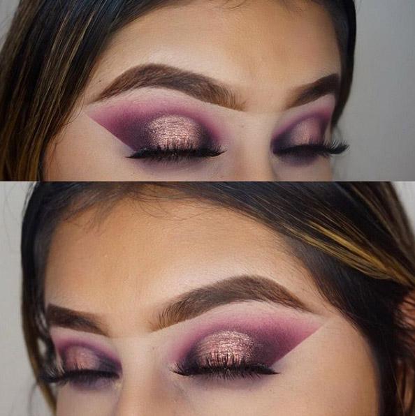Rock Purple Eyeshadow With The Grape Soda Makeup Trend Beauty