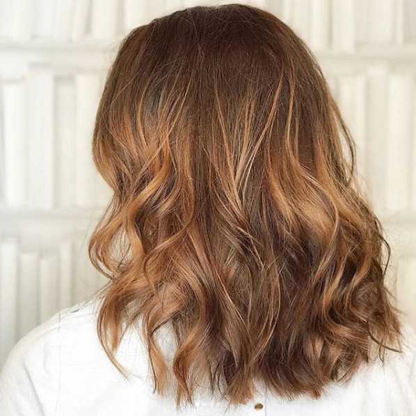 Golden Toffee Hair The Sweetest New Take On Fallwinter Colour Beauty