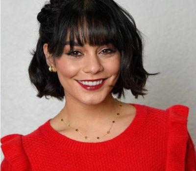 Vanessa Hudgens Short Hair Bangs