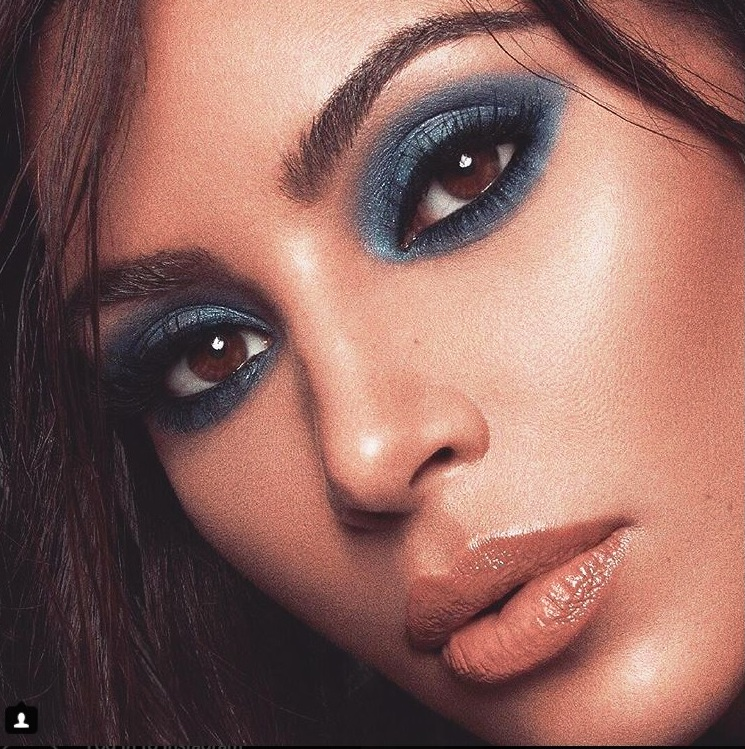 Blue Eyeshadow Makes A Comeback