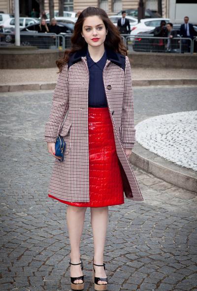 Miu Miu Show During F/W 2015/2016 Paris Fashion Week-Arrivals