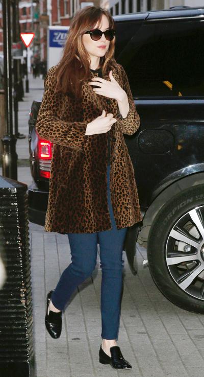 Dakota Johnson Sighting In London