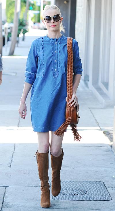 Kate Bosworth Around town in LA