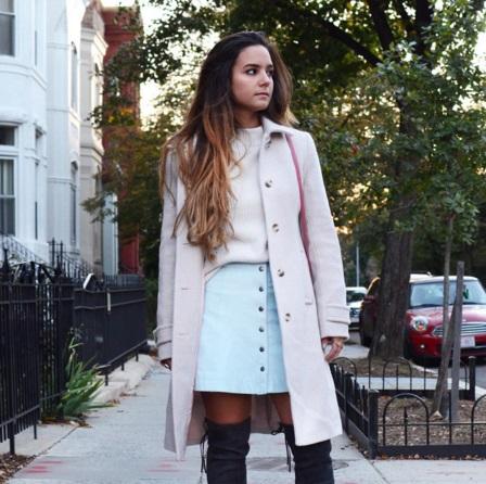 4 Different Ways To Dress Up A Plain Coat Dress | FASHION