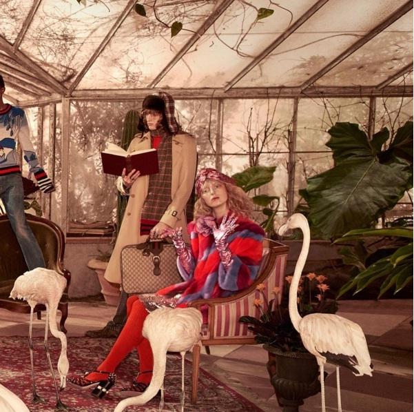 40a7c0e7e76 Gucci Unveils Breezy Tropical Theme For New Pre-Fall 2016 Campaign ...