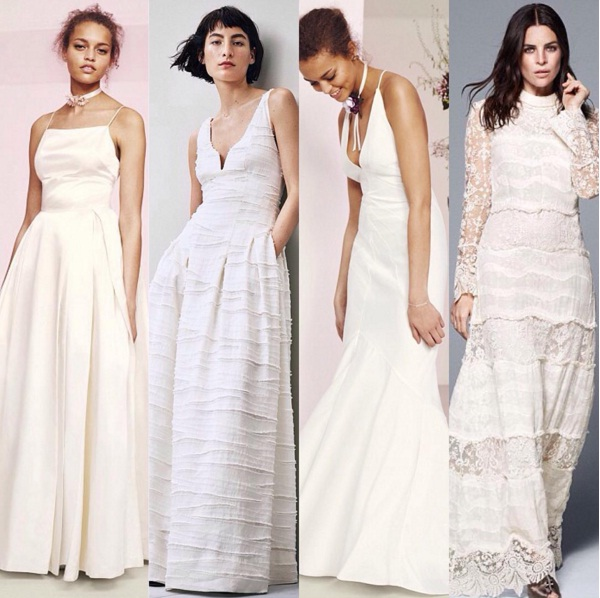 Hm Wedding Dress.H M Launches New Eco Friendly Bridal Collection Fashion