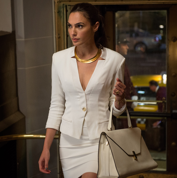 """Copy Gal Gadot's Flawless White Skirt Suit From """"Batman v Superman ..."""