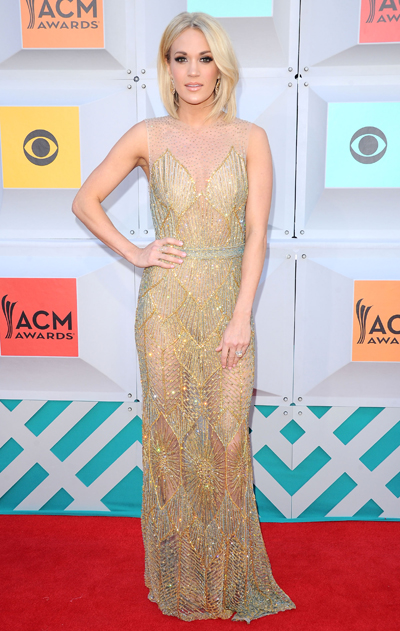 Best Dressed at the ACM Awards 2016: Carrie Underwood