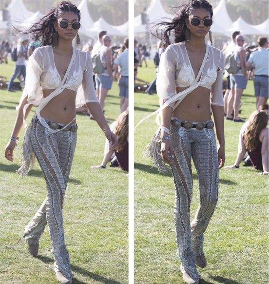 Coachella 2016- Top Celebrity Looks From Chanel Iman Taylor Swift U0026 More | FASHION